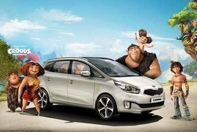 CASE STUDY: Kia and The Croods promote the new Carens | consumer - centric engagement AUT | Scoop.it