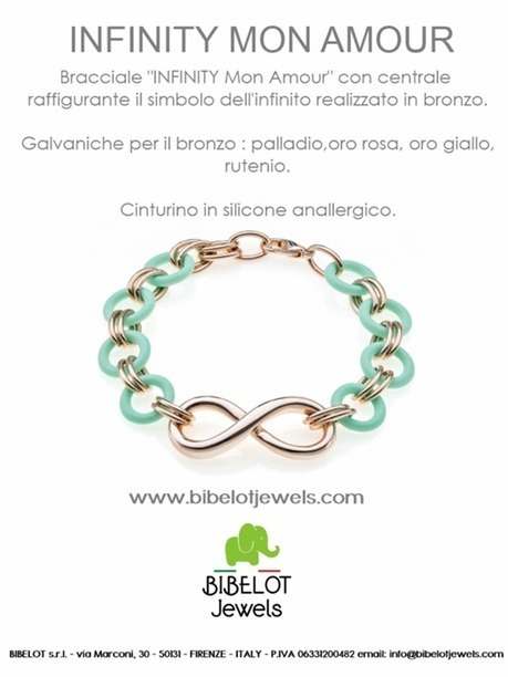 INFINITY MON AMOUR - Bibelot Jewels Florence | Facebook | made in italy | Scoop.it