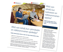 Oikeus opiskella -tapahtumat ja -teema - Näkövammaisten Keskusliitto ry   Aikuisten erityisopetus   Scoop.it