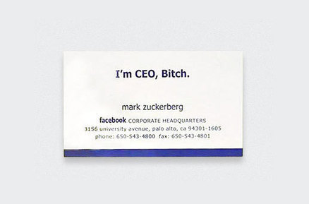 11 Iconic Business Cards Of The Rich And Famous | GiftBasketVillas News - from my home to yours | Scoop.it