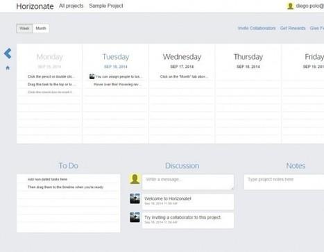 horizonate, una forma extremadamente sencilla de gestionar proyectos y tareas | Apps Web PC | Scoop.it