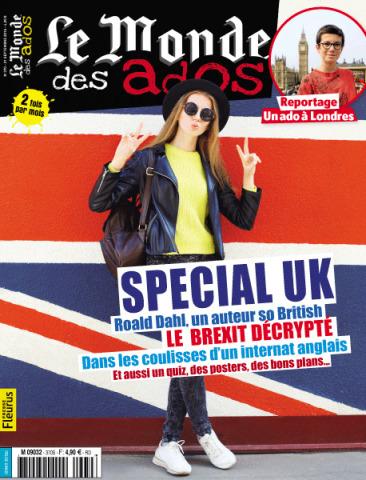 Le Monde des ados n°370 - 21 septembre 2016 | L'ACTU du CDI | Scoop.it
