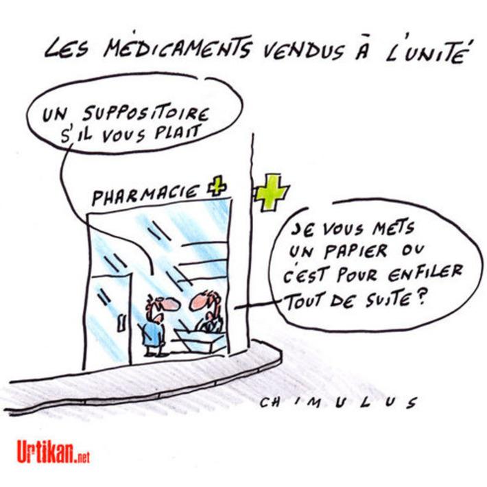 Vente de médicaments à l'unité : les pharmaciens perplexes | Baie d'humour | Scoop.it