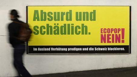 Les patrons suisses craignent les effets d'un oui à Ecopop - RTS.ch | Informatique Romande | Scoop.it