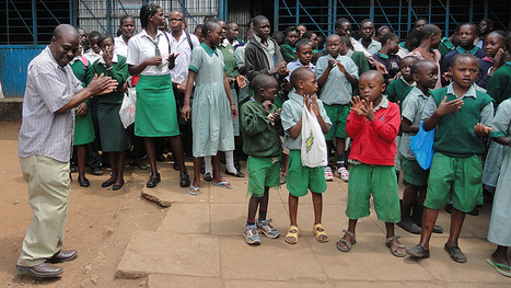 A gift of hope -  StudioNorth donation to the Calvary Education School in Nairobi, Kenya | Kenya School Report - 21st Century Learning and Teaching | Scoop.it