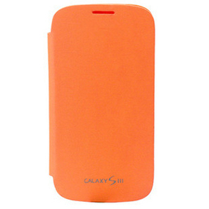 Hot Selling!Orange Wallet Leather Flip Case Battery Cover For Samsung Galaxy S3 III i9300   here are some good goods form tobuygoods   Scoop.it
