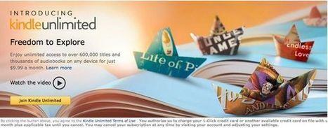 Kindle Unlimited is now live | EBooks & Libraries | Scoop.it