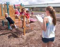 Volunteers help with students' first recess - Champaign/Urbana News-Gazette | Children's Play | Scoop.it