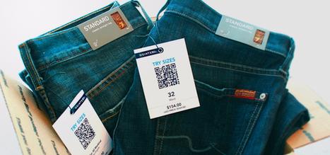 Jeans store uses QR codes to make shopping easier for men   Innovation dans la distribution   Scoop.it