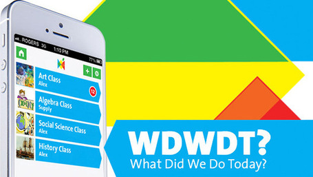 WDWDT: A New App That Keeps Teachers, Students, Parents In Sync | mLearning in practice | Scoop.it