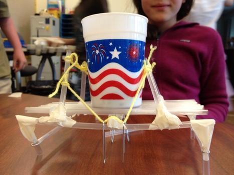 STEM Project: Straw Bridges - Playdough To Plato   STEM - Science, Technology, Engineering and Mathematics   Scoop.it