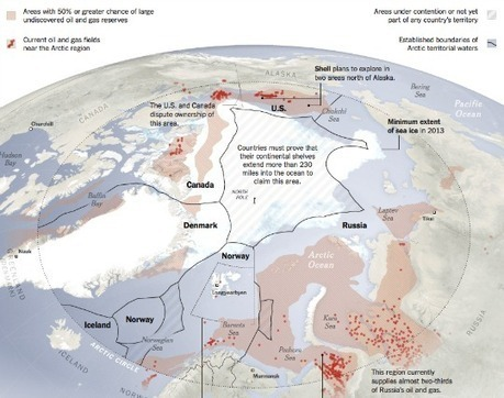 Battle for the Arctic: Canada, Russia Spar in Northern Land Grab | Sustain Our Earth | Scoop.it