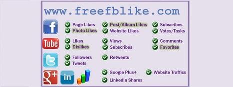 FREE Facebook Likes Twitter Followers Website Traffic Google Plus Backlinks | free website traffic | Scoop.it
