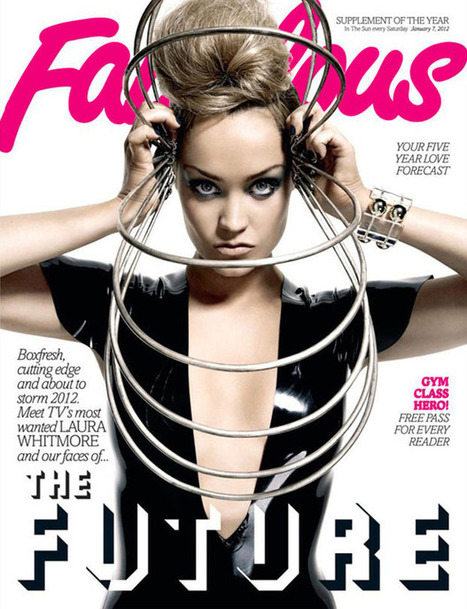 Laura Whitmore in Latex Fabulous Cover | LFN - latex fetish news | Scoop.it