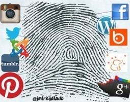 Identidad digital y Marca Personal. Dimensiones TIC | Inmersión TIC | Identidad digital, la huella en la red | Scoop.it
