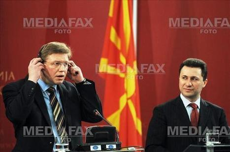 """The Macedonian Tendency: Stefan Fule, EU Commissioner for Enlargement, is the """"Butcher of the Balkans"""" 