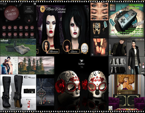 Hello Tuesday -134- Store List for 25th October   亗 Second Life Freebies Addiction & More 亗   Scoop.it