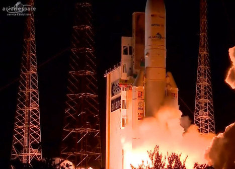 Arianespace Launches OPTUS 10 and MEASAT-3b Satellites - SpaceRef Business | Satellite Communications | Scoop.it