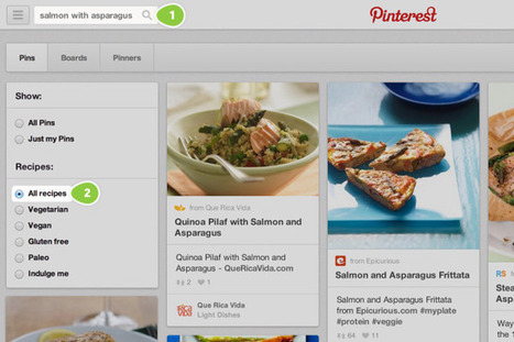 Pinterest launches a recipe search engine | Digital News & Brand Analysis | Scoop.it
