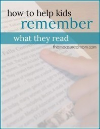 A reading comprehension strategy to help kids remember what they ... | English | Scoop.it