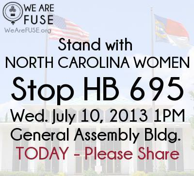 Today, underway. Stop NC . | Coffee Party Feminists | Scoop.it