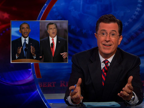 Colbert Report: RNC Convention vs. DNC Convention | Gov't n Law | Scoop.it
