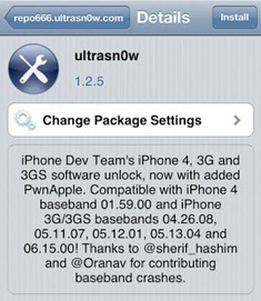 Utrasn0w iPhone 3G, 3GS, 4 Software Unlocking - Jailbreak Wizz   Best Free Software   Scoop.it