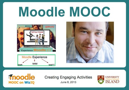 Moodle MOOC on WizIQ Tasks | Let's Learn IT: Moodle@School | Scoop.it