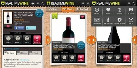 Real Time Wine pops the cork on new retail mobile App | The Wine Glass | Scoop.it
