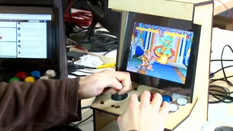 Picade, an Arcade Cabinet for the Raspberry Pi | Raspberry Pi | Scoop.it