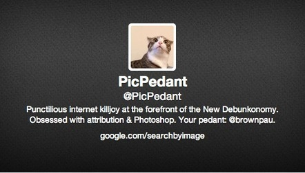 @PicPedant is obsessed with proper photo attribution on Twitter | The Social Media Slant Magazine | Scoop.it