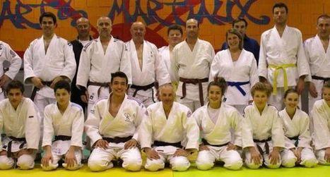 Arreau : l'Auroise Judo honore la 2ème dan de Laurent Ferranti | Vallée d'Aure - Pyrénées | Scoop.it