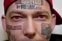 Branded For Life: Dot com Tattoo victims--so much for skinvertising | A Cultural History of Advertising | Scoop.it