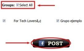 ¿Cómo compartir tu estado en varios grupos con un solo click en Facebook? | Evolución Facebook | amueblarte | Scoop.it