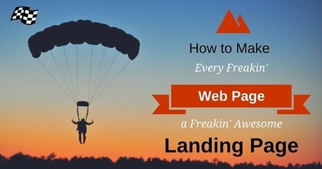 Make Your Web Page an Awesome Landing Page | SEJ | Search, Email, Webinar Marketing | Scoop.it