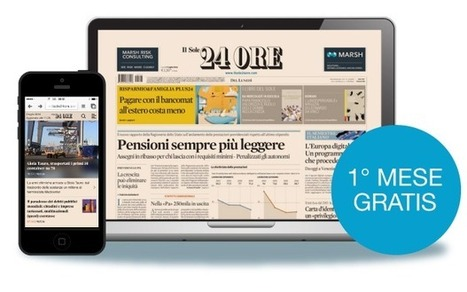Il digitale a scuola / Le opportunità - Il Sole 24 Ore | Pedagogy, Education, Technology | Scoop.it