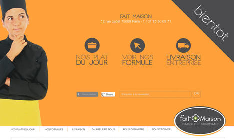 Livraison de repas au bureau & à domicile-Livraison repas Paris-Livraison Repas-Fait Maison | Astuces et bons plans - Graphisme, webdesign, développement et SEO-SMO | Scoop.it