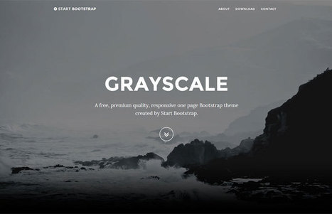 Start Bootstrap - Free Bootstrap Themes and Templates | Web Design | Scoop.it