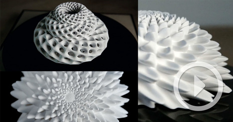 Fascinating 3D-Printed Fibonacci Zoetrope Sculptures | Arts & Creators - Des Arts et des Créateurs | Scoop.it