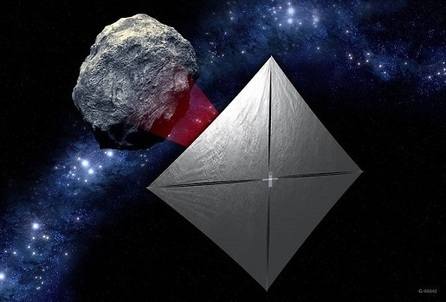 NASA Looks to Commercialize Solar Sail Technology at Parabolic Arc | Aerospace and aviation construction | Scoop.it