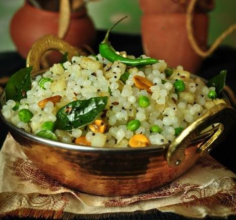 Sabudana Khichdi: Light and Healthy Vrat Recipe | Recipes | Scoop.it