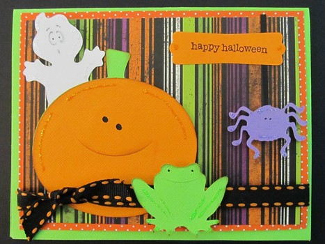 Halloween Card Using Doodlecharms and Paper Doll Dress Up Cricut Cartridges - News - Bubblews | P.S. I Love You Paper Arts and Crafts | Scoop.it