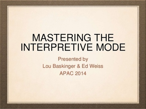 Mastering interpretive mode 2 | French AP IB  AS and  A2 resources | Scoop.it