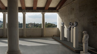 The Archaeology News Network: Examples of Sculpture in the Athenian Agora on show at the Stoa of Attalos | Archaeology and the Bronze Age | Scoop.it