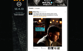 """TNT's MobCity """"Adaptweetion"""" Further Blurs TV & Social 
