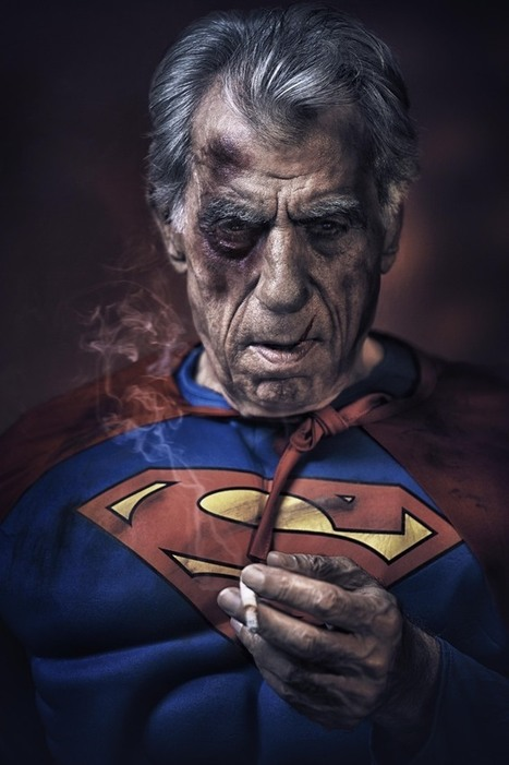 Amazing Photo Series Reveals What Aging Superheroes Would Look Like In ... - Huffington Post   middle-age men   Scoop.it