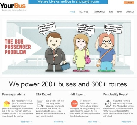 Ibibo Aquires Online Bus Tracking And Analytics Startup YourBus In India  | TechCrunch | Social Media Consultant 2012 | Scoop.it