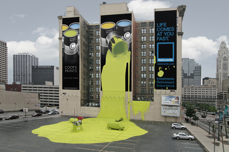 10 of the World's Biggest Advertisements | Creative Guerrilla Marketing | Psychology of Consumer Behaviour | Scoop.it