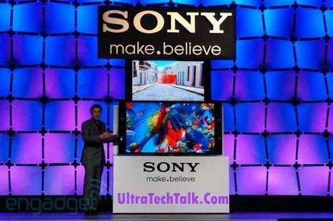 Sony Announces Price For 55 & 65 Inch 4K TV's | I Like Tech | Scoop.it