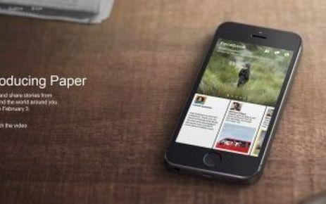 Facebook Paper : à peine lancée et peut-être bientôt rebaptisée | Veille technologique | Scoop.it